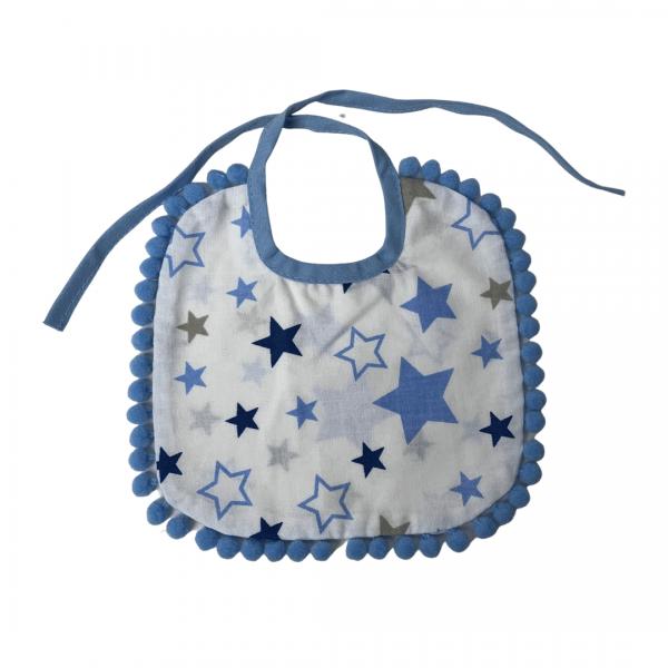 Śliniaczek niebieskie gwiazdki