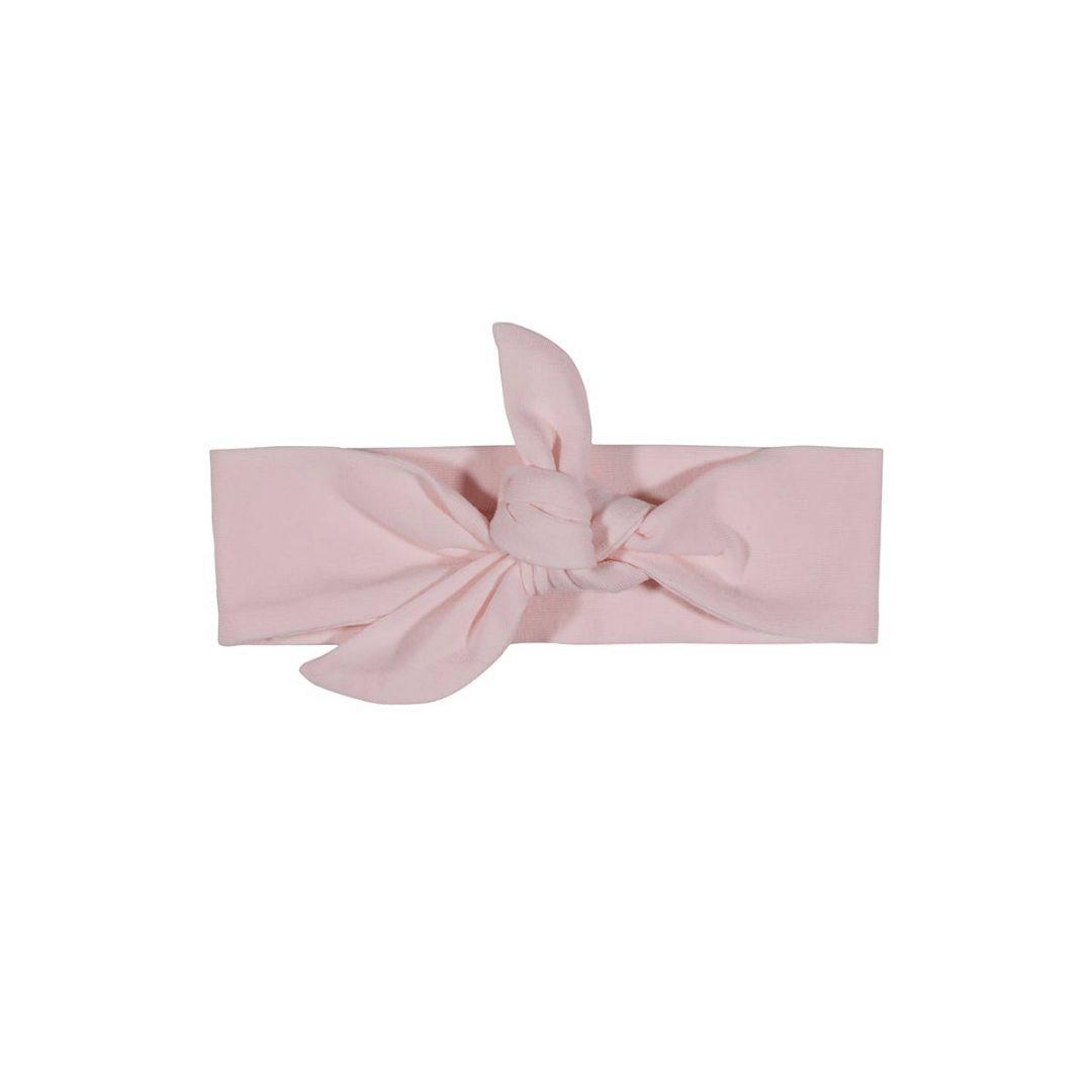 Opaska dla noworodka, różowa