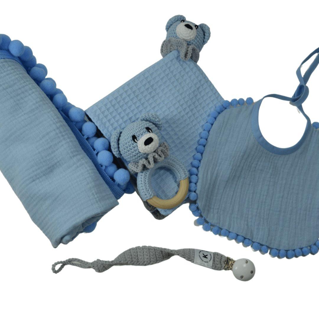 Zestaw prezentowy MAXI niebieski