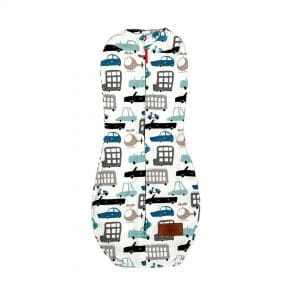 Otulacz dla niemowlaka, auta, rozm. 1: 2,5-5,5 kg | Kokonik.com