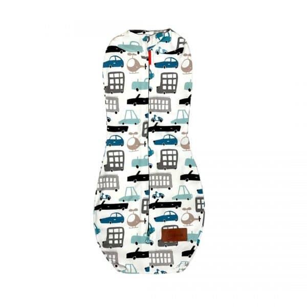 Otulacz dla niemowlaka, auta, rozm. 1: 2,5-5,5 kg   Kokonik.com