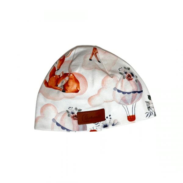 Czapeczka dla noworodka w sarenki | Kokonik.com