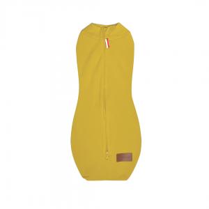 Musztardowy otulacz dla noworodka o wadze 2,5-5,5 kg | Kokonik