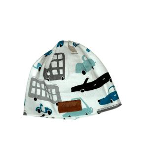 Czapeczka dla noworodka w auta | Kokonik.com
